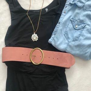 Leather Anthropology belt